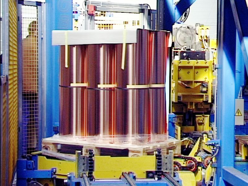 Linee di produzione e imballaggio sottobobine 1