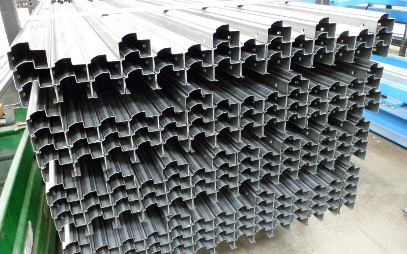 Rollforming lines for window and door frames