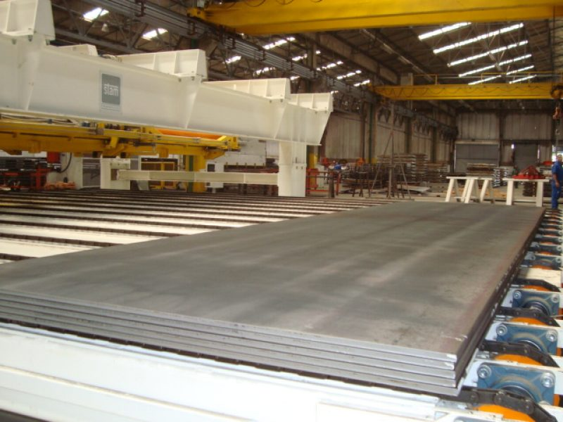 Cut-to-length lines for heavy gauge 1