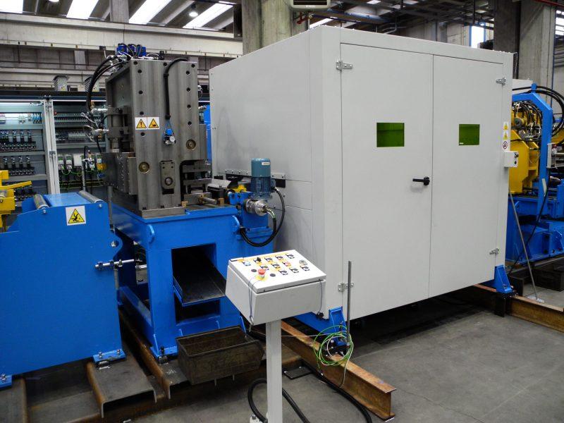 Linee di punzonatura e taglio laser-plasma da coil 1