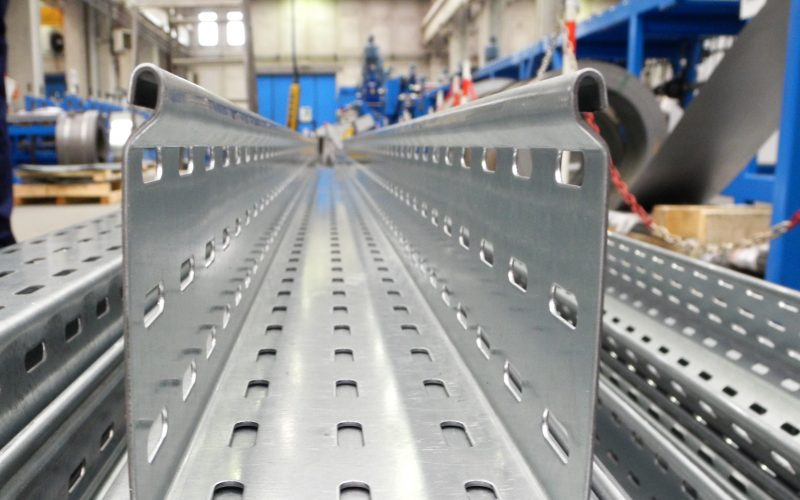 Rollforming lines for cable trays