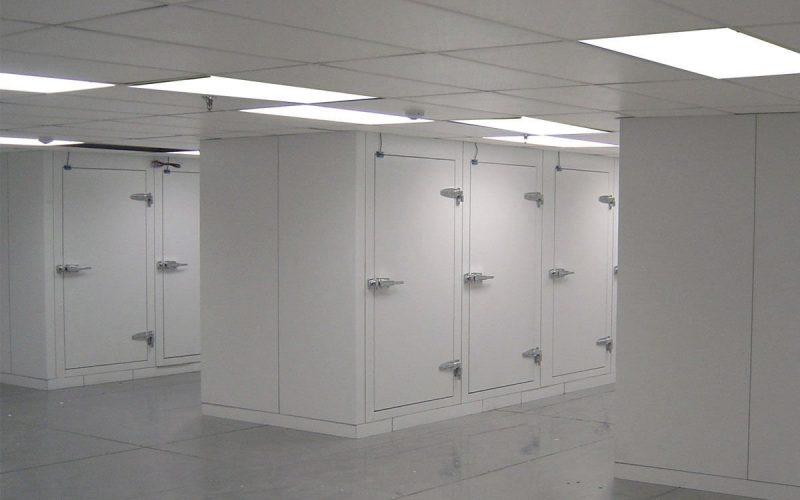 Lignes de production pour chambres froides