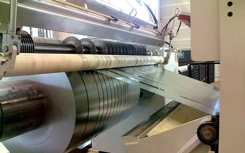 Slitting lines for light gauge