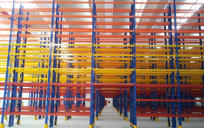 Линии по производству стоек стеллажных систем