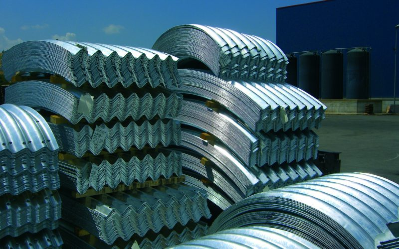 Rollforming lines for tunnel profiles