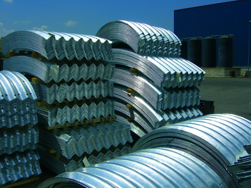 Rollforming lines for tunnel profiles 1