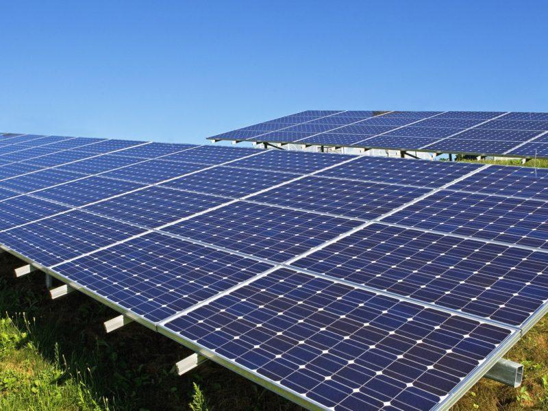 Profilieranlage für Solarpaneele 1