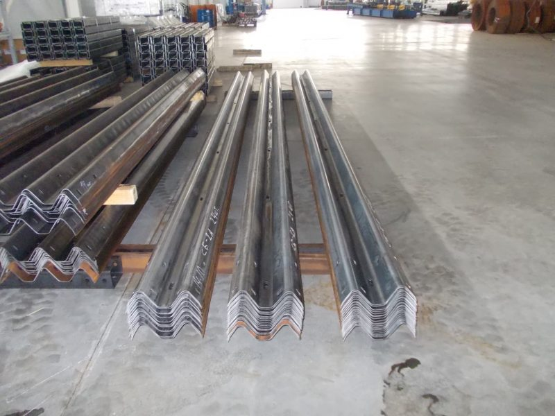 Rollforming lines for guardrails 1