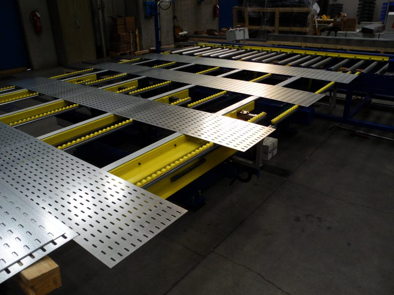 Rollforming lines for cable trays 1
