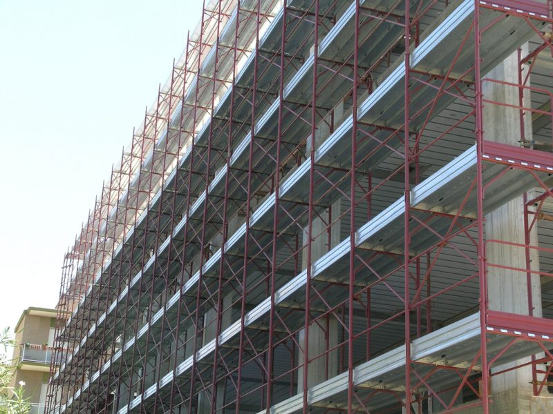 Rollforming lines for scaffolding 1