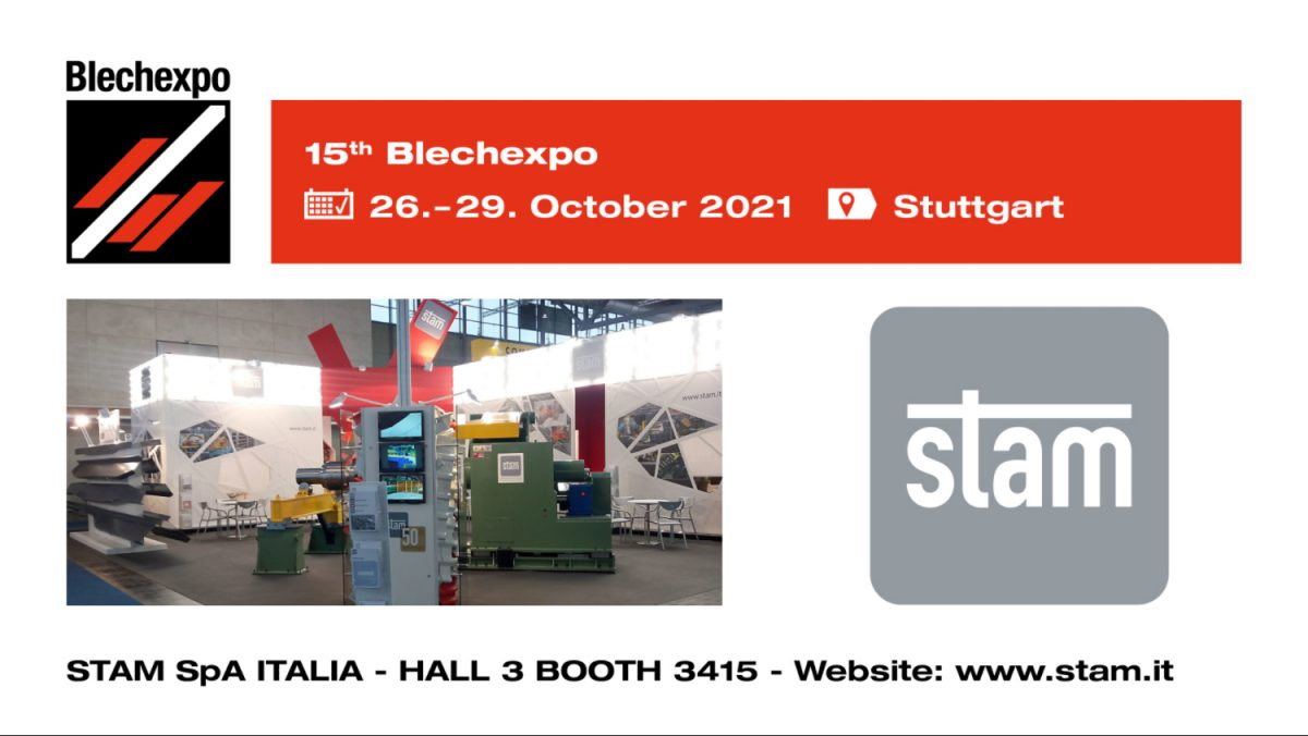 STAM goes to BlechExpo 2021